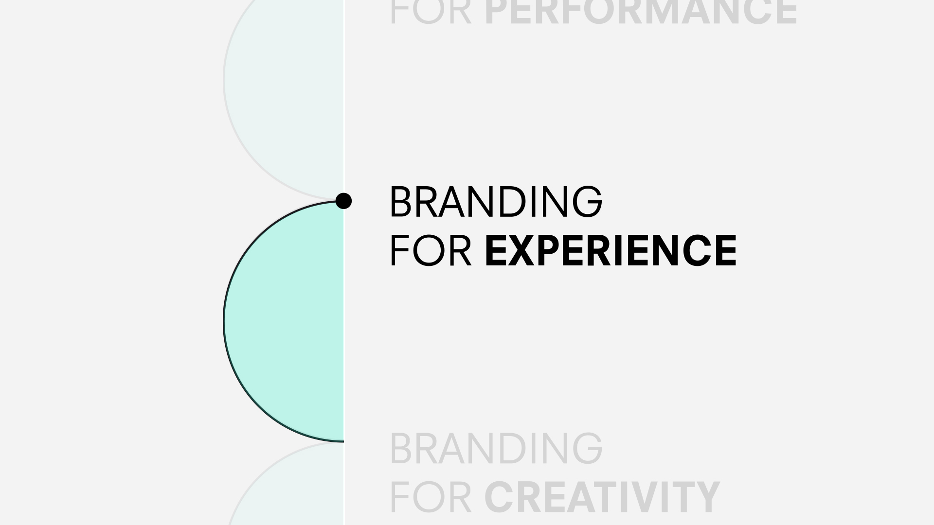 Branding for experience